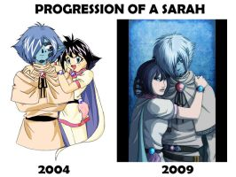 Progression of a Sarah by Shira-chan