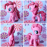 Filly Pinkie Pie G4 Custom by Claytacular