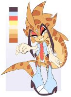 Peace the Leopard Shark Redesign by Official-Stargazer