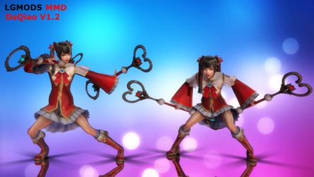 [MMD DL] DAQIAO : DYNASTY WARRIORS 8 (V1.2) by LGMODS