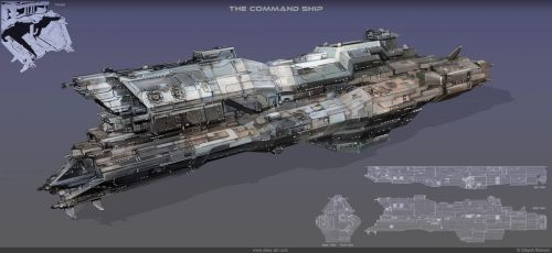 The command ship by Obey-art