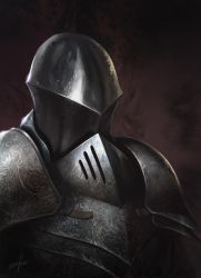 Knight Portrait by Fetsch
