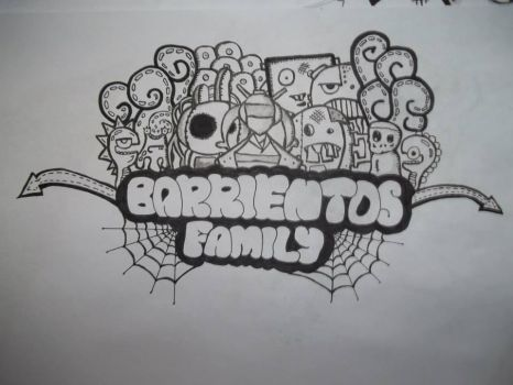 Barrientos Family Doodle by janruzel