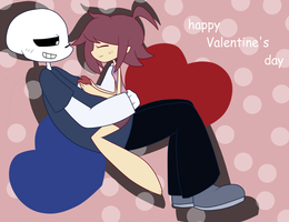 Happy Valentine's Day kiddo by shadcream4eva