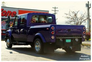 A Cool Purple International Truck by TheMan268
