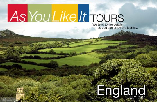 Brand Design As You Like It Tours by GaladrielStar