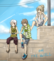 On the wall by caly-graphie