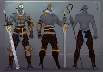 Tovak first heir of the Clan of Storms by Dyemelikeasunset