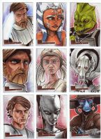 Clone Wars Sketch Cards 8 by prmedia