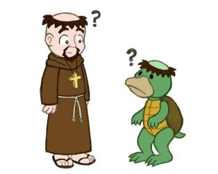 Kappa meets Friar by Cattype