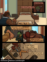 The Cyanfire Origins I Page 11 by benj24