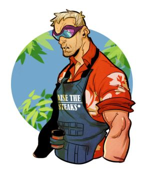 Summer Soldier 76 by Lilli92WGMC