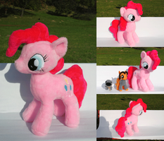 [My Little Pony: FiM] GIANT Pinkie Pie plushie by NekoRushi