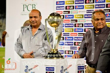 ICC World Cup 2015 | Trophy Showcase - Karachi by TahaJawaid
