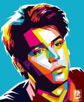 JOHNNY DEPP (YOUNG) IN WPAP by Bryanlomi