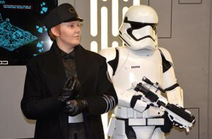 General Hux and Stormtrooper by masimage