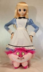 Alice and Cheshire Cat - Cheshire Style by AnimatorAR