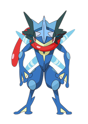 What my Greninja would look like by StormHeart122112