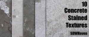 Concrete Stained Texture Pack by sdwhaven