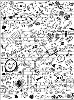 Class Doodles by katmcgeer
