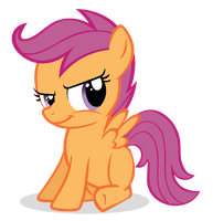 Scootaloo: 'Sure! We can do that.' by Lahirien