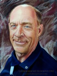 J. K. Simmons by AmBr0