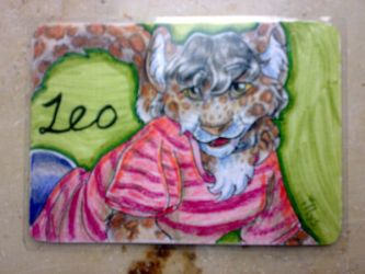 Badge - Leoparda by Illys