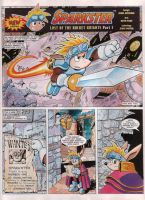 Sparkster Last of the Rocket Knights page 1 by ThePrinceofMars