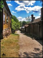 The old town of Turku by asinx