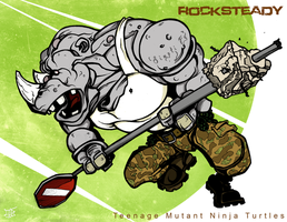 RockSteady - TMNT by Cilab