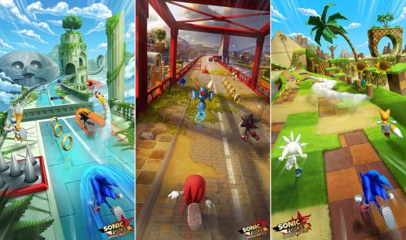 Sonic Forces: Speed Battle Zone Concepts by damie-m