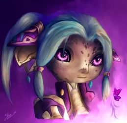 Guild Wars 2 - Purpura Papilio by xX-Lone-Wolf-Xx