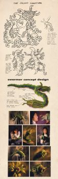 Swarmer Movie Concepts by kenfreelance