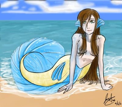 Treasure of the Sea by ll-Wolfie-ll