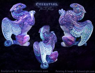 Celestial Griffin by EchoesLight