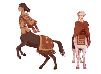 Centaurs by Yonetee