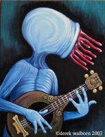 The Musician by DerekWalborn