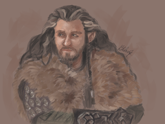 Thorin - The King Under The Mountain by Kaabe7