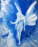 A Blue Fairy by adez
