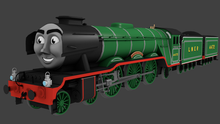 The Flying Scotsman [CGI] by TheChairmaster
