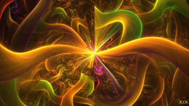 Psychedelic Disco Party by jccrfractals