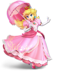 Peach - Super Smash Bros. Ultimate Render by DoctorWD