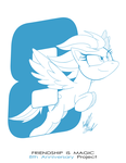 Project 8: Rainbow Dash by Fuzon-S