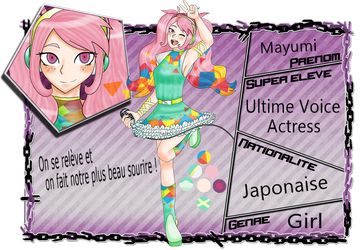 [EC] Mayumi - Ultime Voice Actress by Mirmille