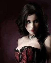Deadly Elegance - Portrait by SaucyMuse