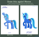 Another Finished Meme! Draw this again. by EmpatheticMortalAnge