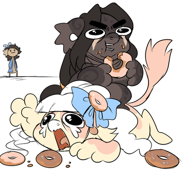 DONUTS by PillowRabbit