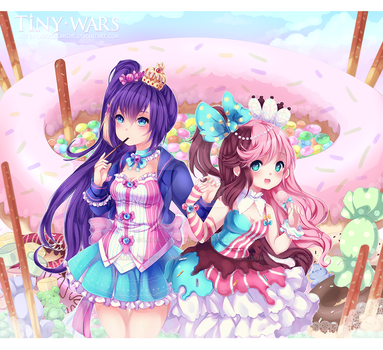 Candy Sisters by LaDollBlanche