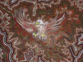 Eagle Dot Painting by traditionaldot