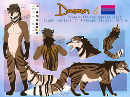 Daemon Reference Sheet 2018 by Spottedfire23